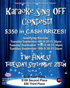 "The ""FALL CLASSIC"" Karaoke Sing Off is BACK!"