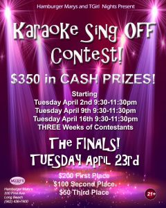 THIS WEEK! We Start the KARAOKE SING OFF!