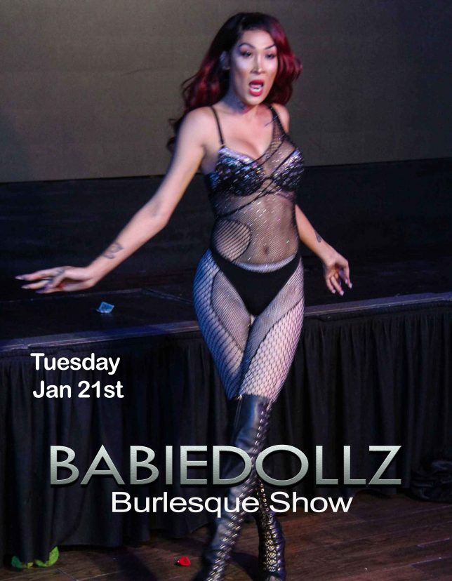 THE BabieDollz Burlesque Show RETURNS!