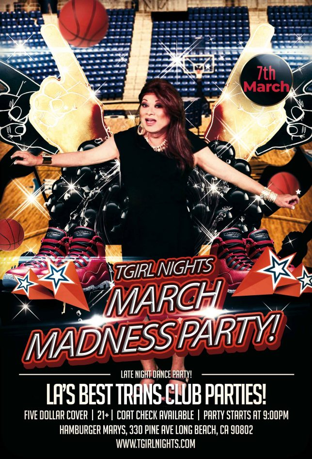 THIS SATURDAY the 7th, MARCH MADNESS!!
