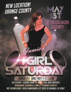 TGirl Saturday Flyer
